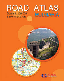 Road atlas of Bulgaria