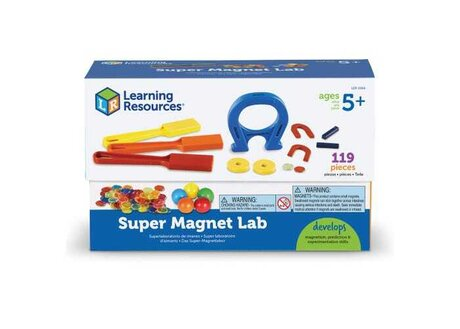 Лаборатория Super Magnet, Learning resources