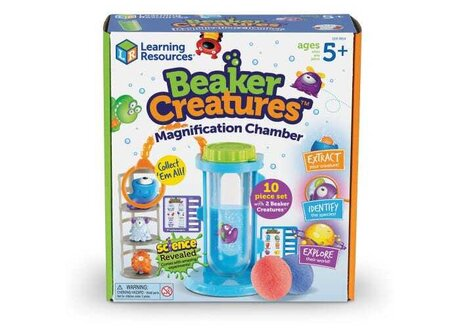Beaker Creatures -Увеличителна камера, Learning resources
