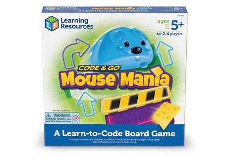 Настолна игра - Code & Go Mouse, Learning resources