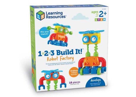 1-2-3 Build It! Построй си робот, Learning resources LER 2869