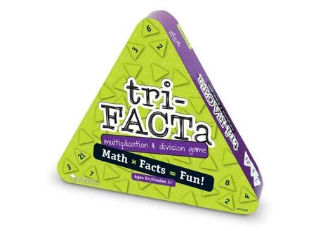 tri-FACTa! ™ Игра по математика - Умножение и деление,Learning Resources,LER 3039